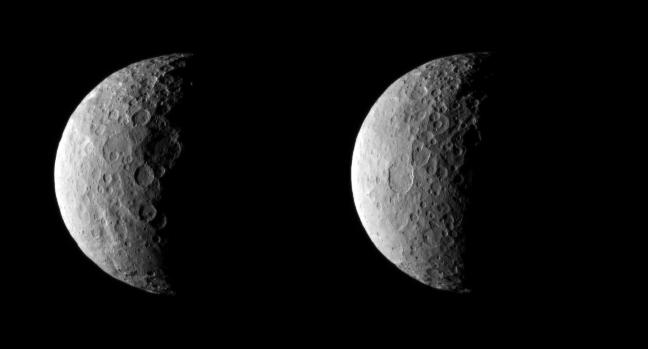 Ceres vazuta de Dawn