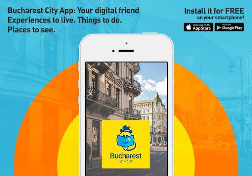 Descoperă Bucureștiul, fie că ești turist sau localnic, cu Bucharest City App