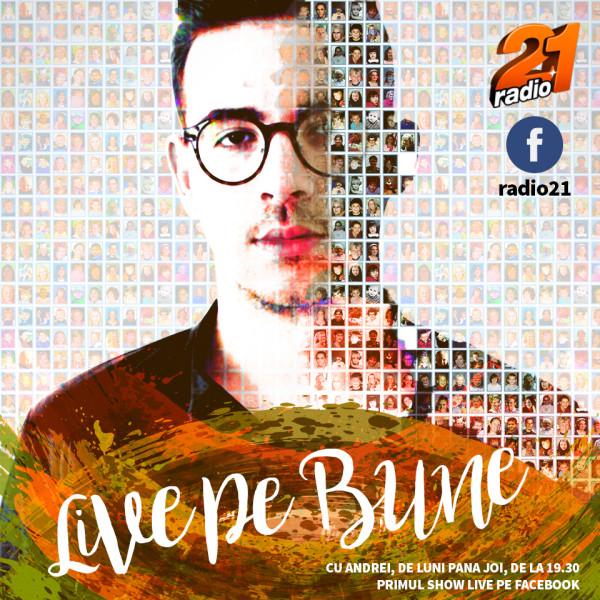 Radio 21 a lansat primul show live dedicat exclusiv publicului de pe Facebook