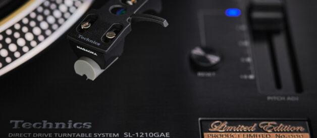 Technics lansează SL-1210GAE Limited Edition
